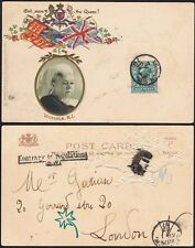 1902 SG 216 April Fools Day Contrary to Regs on Victoria God Save the Queen