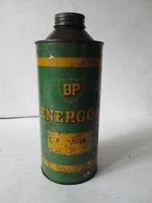 BP Energol quart  tin . motor oil. Shell. Esso.BP. garage. no contents.