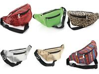 Bum Bag Fanny Pack Travel Waist Festival Money Belt  Pouch Holiday Wallet UK