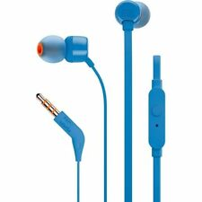 JBL T110 Universal In-ear Headphones With Remote Control and Microphone Blue