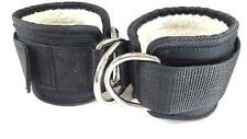 IDEAL Wool Lined Ankle Strap with Hook & Loop Closure, Pair