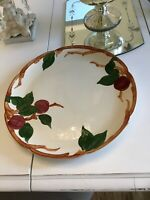 FRANCISCAN WARE - APPLE PATTERN - U.S.A. / CALIFORNIA - Dish Plate PLATTER - 12""