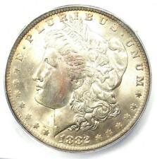 1882-O Morgan Silver Dollar $1 - ICG MS65+ PQ - Rare Plus Grade - $1,000 Value!