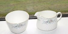 Minton English Fine Bone China Sunningdale Milk Jug & Sugar Bowl 1987