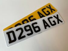 Short 7 digit pair road legal Number Plates 100% MOT Compliant free post