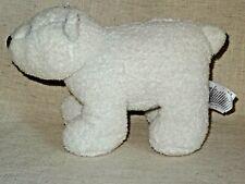 MOTHERCARE 9 INCH POLAR BEAR SOFT TOY CUDDLY PLUSH WHITE
