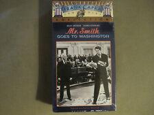 Mr. Smith Goes To Washington (1939) Vhs James Stewart Jean Arthur Rains Sealed!