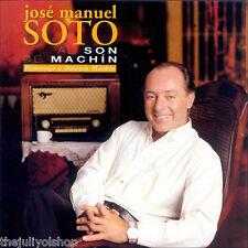 CD JOSE MANUEL SOTO ....AL SON DE MACHIN....homenaje a ANTONIO MACHIN...rare cd