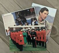 Vintage Queen Elizabeth II & Prince Charles Unused Postcards