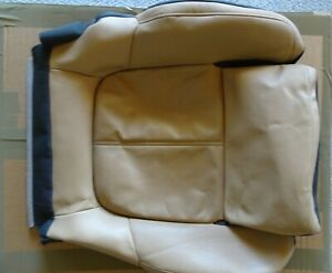 PORSCHE CAYENNE 2011 18 LOWER R SEAT COVER LUXOR BLK LEATHER OEM 95853185601AAC