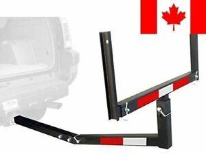 MaxxHaul 70231 Hitch Mount Truck Bed Extender (for Ladder, Rack, Canoe, Kayak...