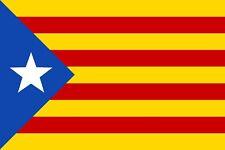 Catalan Flag sticker 12x8cm Catalonia L'Estelada Barcelona Cuba car decal laptop