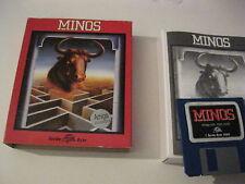 Minos Amiga game complete Turtle Byte 1989
