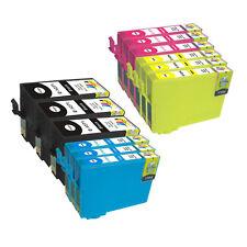 12 Pack NON-OEM T127 Ink CARTRIDGE Epson WorkForce 630 633 635 645 840 845 #127