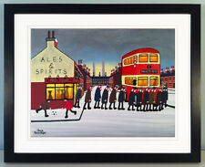 "JACK KAVANAGH ""GOING TO THE MATCH"" MANCHESTER UNITED FRAMED PRINT"