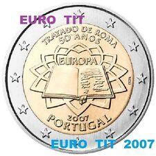 2 EURO   PORTUGAL   PIECE  COMMEMORATIVE   NEUVE    2007          disponible