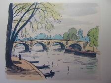 44/ AQUARELLE PARIS / Le Pont Marie
