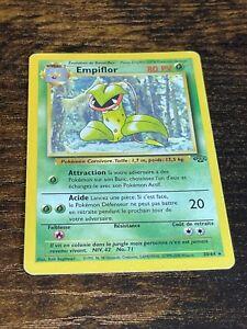 Empiflor 30/64 Rare Non Holo Pokemon Card. Jungle Set. FRENCH. Near Mint.
