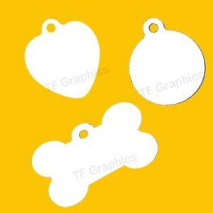 Custom Aluminium Pet Tags - Personalised ID Tag Dog Tag Pet Tag Collar Tag Pet