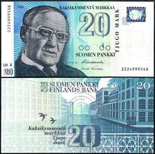 FINLAND 20 MARKKAA 1993 (1997) P 123 UNC