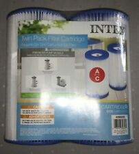 New listing ✅ Summer Waves Or Intex Pool Filters Type A or C 2 Pack Free Shipping