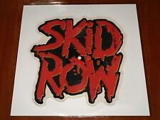 "SKID ROW 18 & LIFE *RARE* 7"" SHAPED PICTURE DISC VINYL LIMITED WEA UK PRESS 1989"