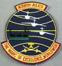 US Air Force 438th ALCS - Airlift Control Squadron Cut Edge Patch