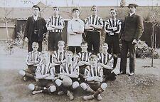 1906 St Peters Football Team Northampton Photographic Postcard Northamptonshire