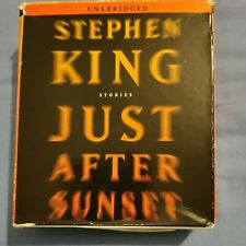 Stephen King Just After Sunset Audiobook Unabridged Inc The Gingerbread Girl