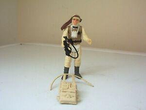 vintage star wars figure Luke Skywalker [Hoth battlegear] with original weapon.
