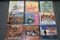 LOT 9 Country Classics Honky Tonk Legends and Best of Various Artists BRAND NEW