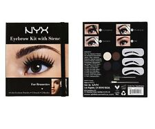 NYX Eyebrow Kit with Stencil For Everyone EBKS 01