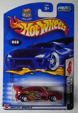 2003 DRAGON WAGONS TOYOTA CELICA RED HOT WHEELS 1/64 DIECAST CAR