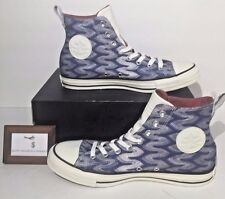CONVERSE MENS SIZE 8 CHUCK TAYLOR ALL STAR X MISSONI SHOES BLUE EGRET NEW