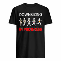 Downsizing In Progress Funny Gastric Bypass Surgery Weight Loss Diet T-Shirt