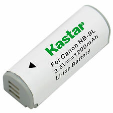 Kastar Battery NB9L for Canon NB-9L  PowerShot N N2 SD4500 IS ELPH510 HS 520 530