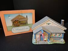 Midwest Cannon Falls Cottontail Lane ~ Lighted Bunny Bed & Breakfast ~ Box Light