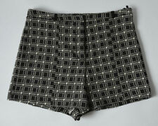 River Island Cotton Check Shorts for Women