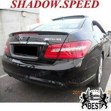Stock FRP L Type Trunk Spoiler Wing For 09~16 Mercedes Benz C207 E-Class Coupe