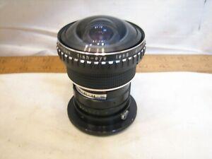 Vintage Portertown 55mm Fish-Eye Camera Lens .15X Japan Fisheye Wide