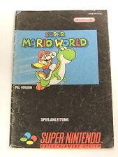 Spielanleitung Super Nintendo Super Mario World 002