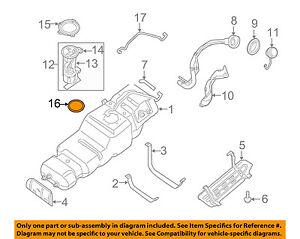 NISSAN OEM 05-15 Armada 5.6L-V8 Fuel System-Fuel Pump Seal 173427S000