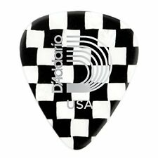 Planet Waves Checkerboard Celluloid Guitar Picks 100 pack, Extra Heavy