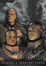 2002 Stargate SG1 Season 5 promo card P1 Teal'c