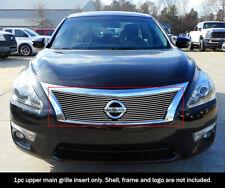 Fits 2013-2015 Nissan Altima Upper Aluminum Polished Billet grille insert