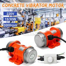 Concrete Vibrator Vibration Motor Single Phase Aluminum All 15W/30W 220V 3000rpm