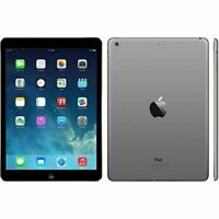 "Apple iPad Air 1st Gen Black/Grey 32GB Wi-Fi 9.7"" GRADE A+ Warranty iOS 12+ UK"
