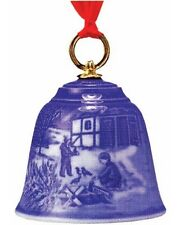 """Bing & Grondahl 2007 Christmas Bell Ornament """"In the Countryside"""""""