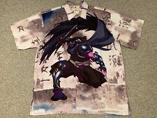 Clench 701 Jeans Polo Shirt Sz XL Samurai Warrior Made in Korea Warrior Anime