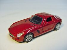 1:64 NOREV Mercedes-Benz SLS AMG (C197) Coupe Le Mans red met. RARE DEALER PROMO